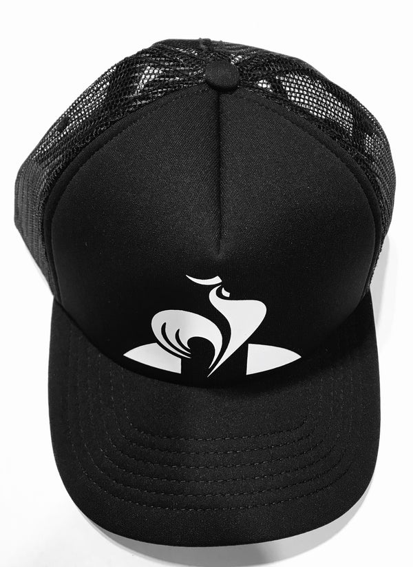 le coq sportif Classic Trucker Cap 2820693 Black Famous Rock Shop Newcastle 2300 NSW Australia