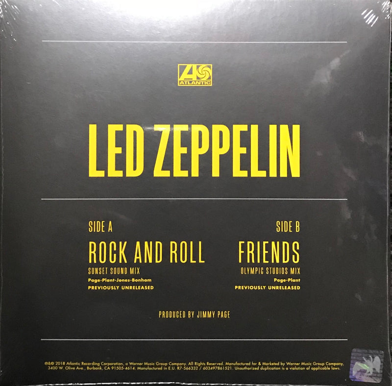 Led Zeppelin 7inch Record Store Day 2018 Exclusive Vinyl  Famous Rock Shop Newcastle 2300 NSW Australia 1