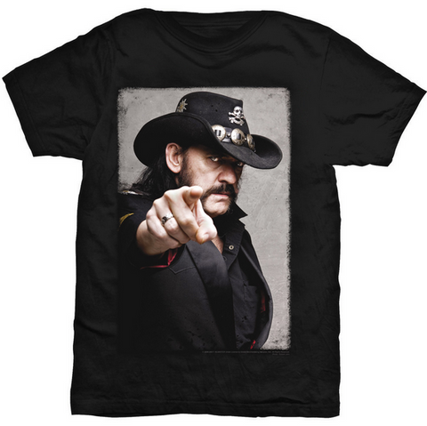 Lemmy - Pointing Photo T-Shirt