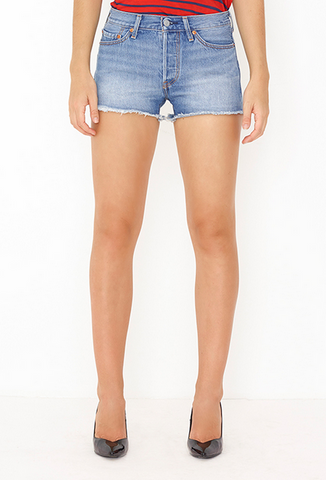 Levi's 501 Denim Shorts Morning Haze 32317-0029