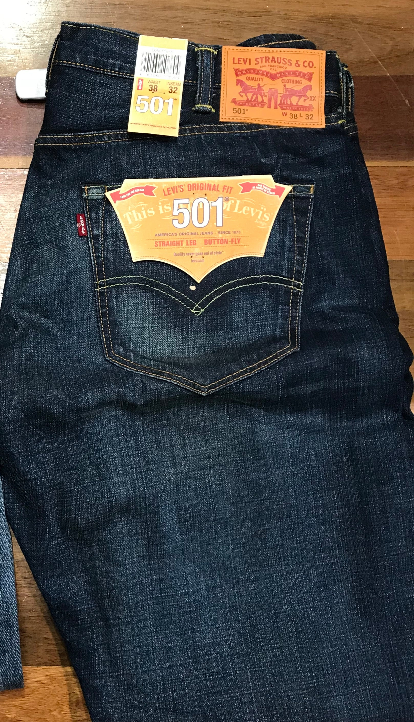 538130d4dec Levi's 501 Original fit Straight WPL432 Leg Button Fly Famous Rock Shop  Newcastle 2300 NSW Australia