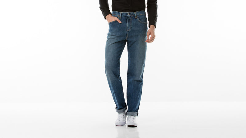 Levi's 504 Regular Straight Jeans Field Goal Rinse 005040393