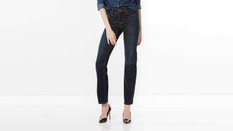 Levi's Denim 315 Shaping Bootcut Mid Rise Jeans
