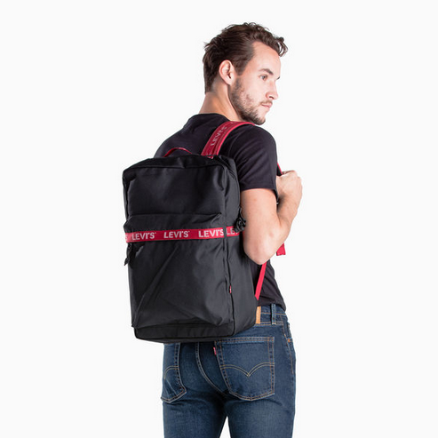Levi's L Backpack Black 380041038 Famous Rock Shop Newcastle, 2300 NSW. Australia. 7