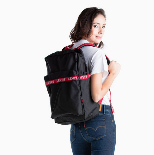 Levi's L Backpack Black 380041038 Famous Rock Shop Newcastle, 2300 NSW. Australia. 8