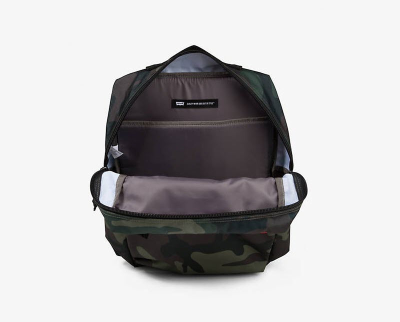 Levi's L Backpack Printed Camo 38004 0133 Famous Rock Shop Newcastle, 2300 NSW. Australia. 3