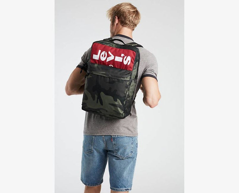 Levi's L Backpack Printed Camo 38004 0133 Famous Rock Shop Newcastle, 2300 NSW. Australia. 4