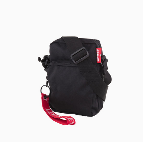 Levi's L Series Crossbody Bag Regular Black 380050045 Famous Rock Shop Newcastle, 2300 NSW. Australia. 1