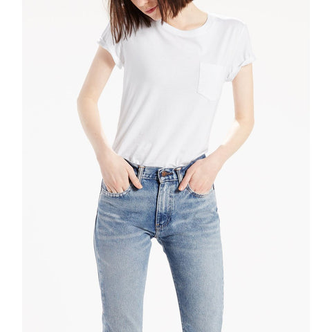 Levi's The Perfect Crew White CN 100XX 18670037 Famous Rock Shop Newcastle NSW Australia