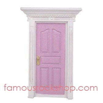 Light Pink Glitter Fairy Door