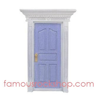 Light Purple Glitter Fairy Door