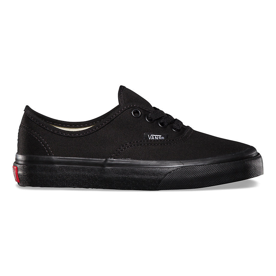be7a17b312 Vans Authentic Black  Black Youth Kids Sizes Youth 11-4. Famous Rock ...