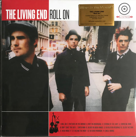 Living End Roll On Limited Red Coloured Vinyl MOVLPC2037 Famous Rock Shop Newcastle 2300 NSW Australia