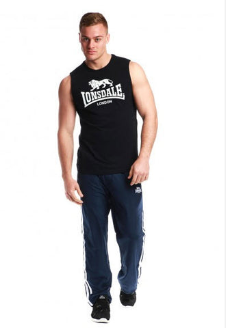 Lonsdale Biscoe Muscle Shirt Black LE502TK