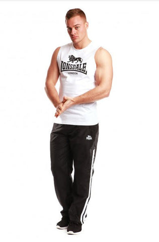 Lonsdale Biscoe Muscle Shirt White LE502TK