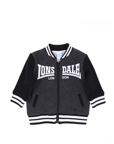 Lonsdale London Baxter Infant Black Marle Black BB12309Z