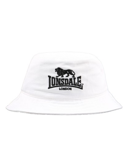 Lonsdale London Brighton Bucket Hat White LE607C