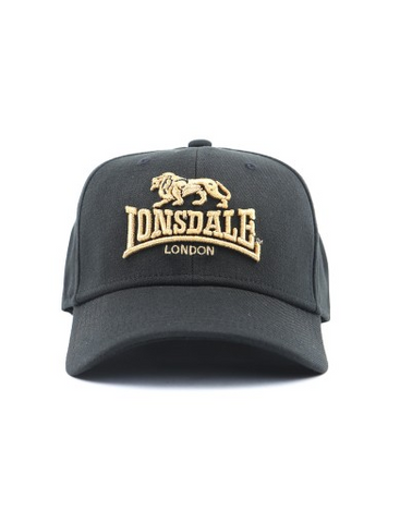 Lonsdale London Brixton Hat Black/Gold LE605C
