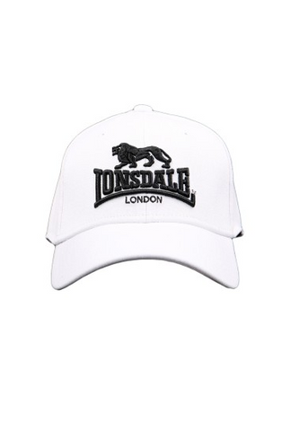 6774b8b44db9 Lonsdale London Brixton Hat White LE605C