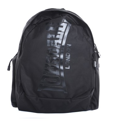 Lonsdale London Capra Black Black Backpack LBE705