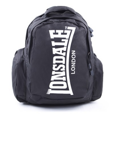 Lonsdale London Capra Black/White Backpack LBE705