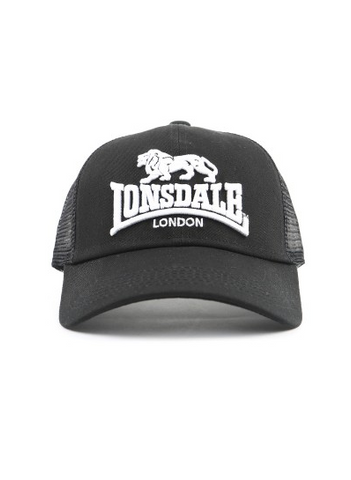 bddbbf8a9580 Lonsdale London Frankston Black Hat LE606C