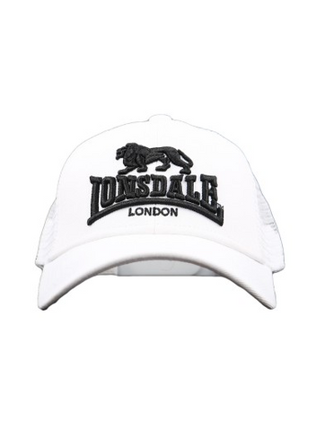 Lonsdale London Frankston White Hat LE606C