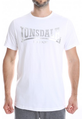 Lonsdale London Horton White/Silver LE533T
