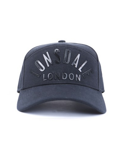 Lonsdale London Loring Cap Black LA11550C