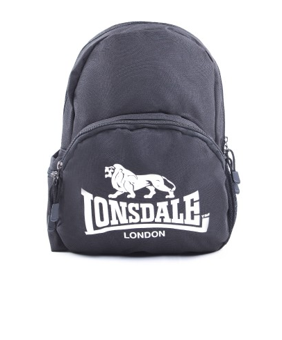 Lonsdale London Marwell Black White Backpack LBE707