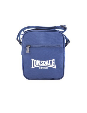 Lonsdale London Sterling Satchel Bag Navy/White LBE708