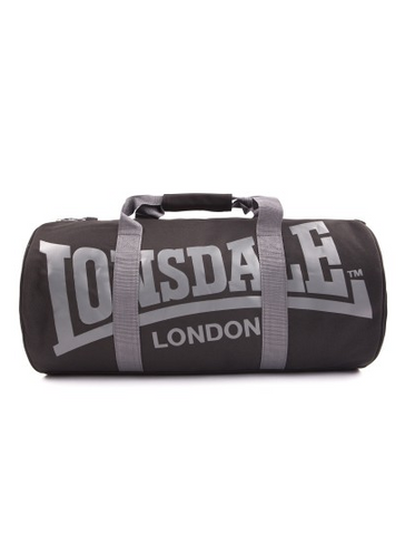 Lonsdale London Turner Bag Black/Charcoal LB11533