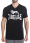 Lonsdale London Warren Black Silver