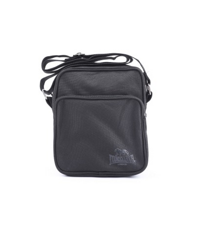 Lonsdale London Wills Satchel Bag Black/Black LBE710