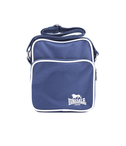 Lonsdale London Wills Satchel Bag Navy/White LBE710