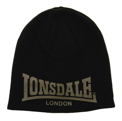 Lonsdale London Russ Beanie Black Olive