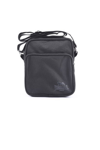 Lonsdale Willis Satchel Bag Black LBE710