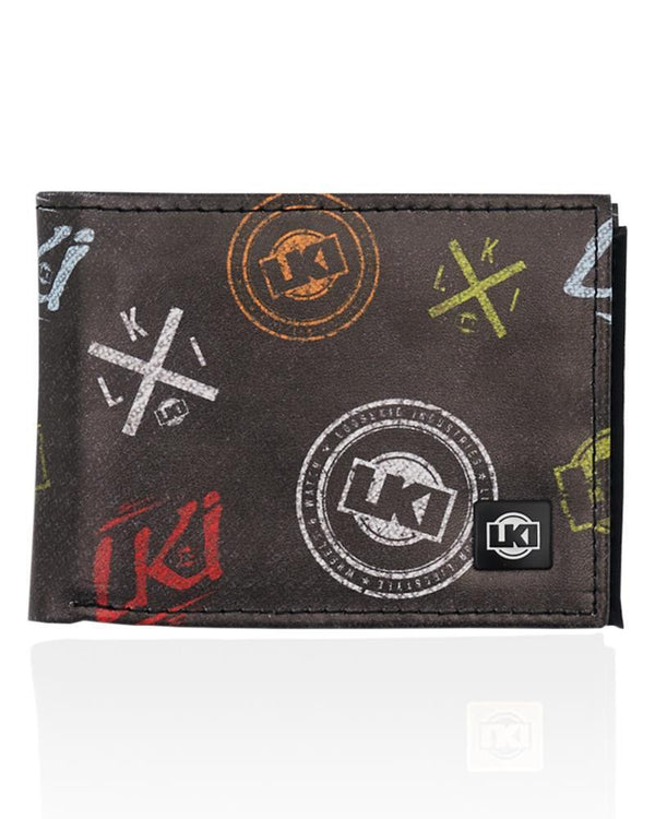 LKI Expression Wallet Black Multi L112A1035
