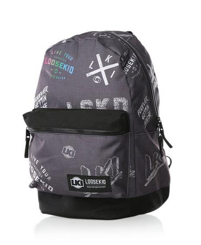 LKI Diffuse Backpack Charcoal L111A1014