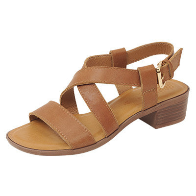 Roc Mezzo Tan Leather Sandals