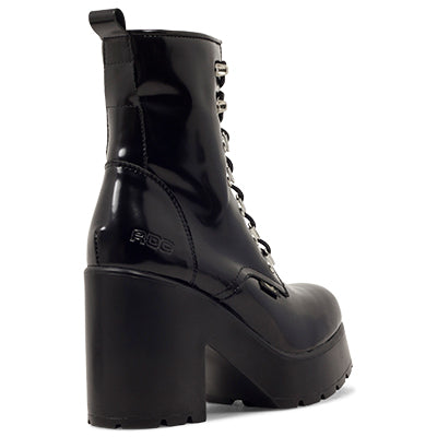Roc Boots Mission Hi Shine Black