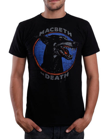 Macbeth Doberman T-Shirt Black