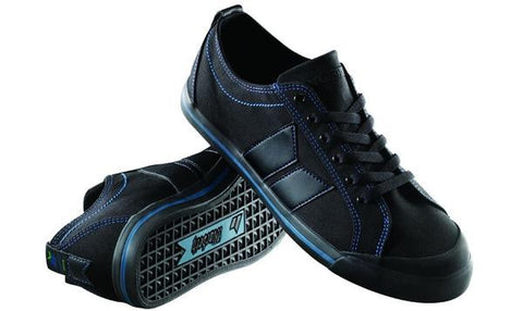 Macbeth Eliot Black Muted Cobalt Classic Canvas