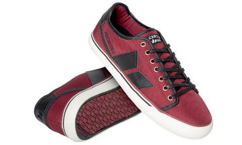 Macbeth James Ox Blood/Black Canvas/Synth Leather- Vegan- MMF10031.005 Famous Rock Shop 517 Hunter Street Newcastle 2300 NSW