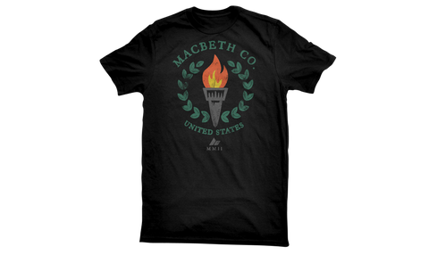 Macbeth Olympus Vegan T-Shirt Black