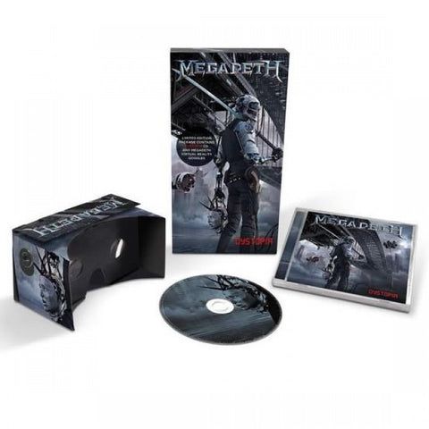 Megadeth - 'Dystopia' CD + Virtual Reality Goggles