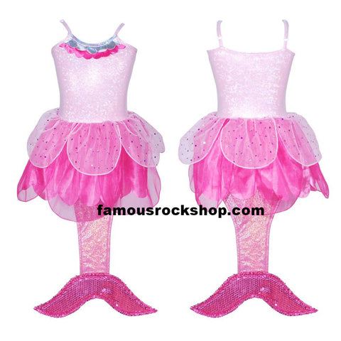 Mermaid Pink Kids TuTu Costume