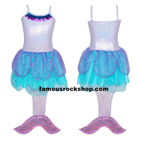 Mermaid Purple Kids TuTu Costume