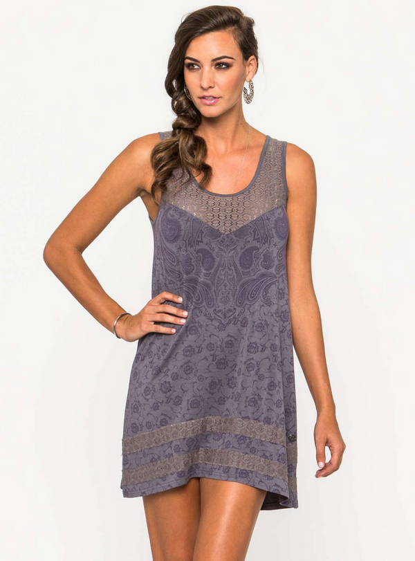 Metal Mulisha Ever Wanted Dress Grey M35716308