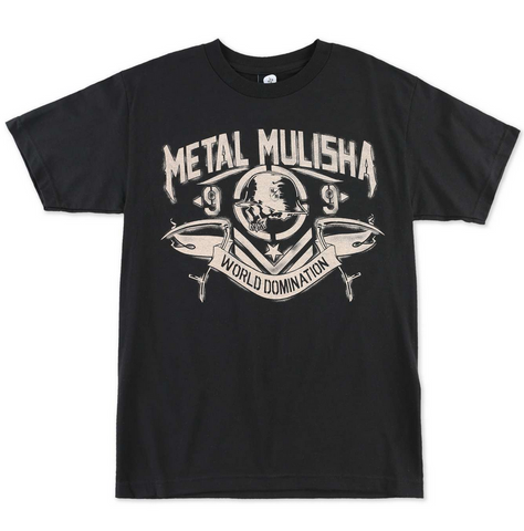 Metal Mulisha Have No Fear Men's T-Shirt Black M355S18312